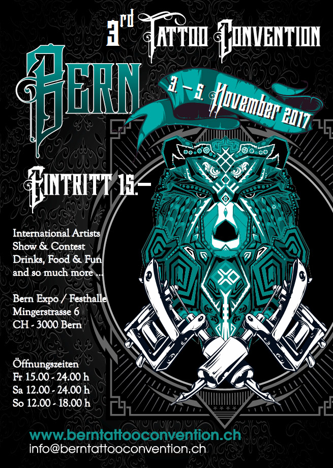Tattoo Convention Bern 2017